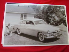1951 MERCURY 2DR HARDTOP  11 X 17  PHOTO /  PICTURE