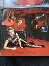 Roxette Room Service Signed Autographed CD
