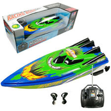 High Speed Remote Control Yacht 2 Motors Rapid Speedboat Boat Funny Toy Gift New