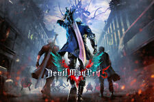 RGC Huge Poster - Devil May Cry 5 PS4 XBOX ONE Poster Glossy Finish - NVG209