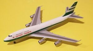 JC Wings / Big Bird 1:400 Cathay Pacific 747-300 Delivery Colors VR-HII 30/240