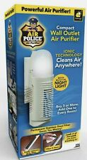 BulbHead Air Police Air Purifier Portable Plug-In w/ Ionic Technology Free Ship