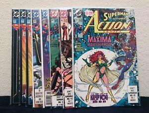 DC Comics Superman in Action Comics (44 Comic Lot)