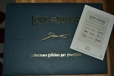 (Tolkien) The Lord of the Rings Collectors Edition Art Portfolio - Numb Ltd Ed