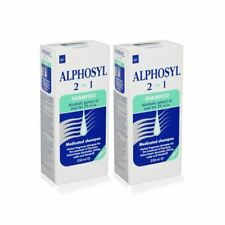 Alphosyl 2-in-1 Medicated Shampoo 250ml - 2 Pack
