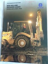 New Holland Backhoe Loader Tractors brochure Feb 1997
