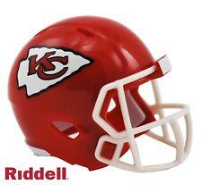 Kansas City Chiefs Riddell Pocket Pro Mini Football Helmet - New in Package