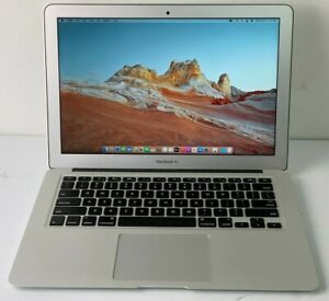 "2015 Apple MacBook Air 13"" Core i5 1.6ghz 8gb 128gb SSD big Sur OS GOOD"