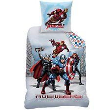 Avengers City Parure de couette coton 140 x 200 cm Cti4