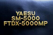 Yaesu FTDX-5000MP and SM-5000 Combo Ham Radio Amateur Radio Dust Cover