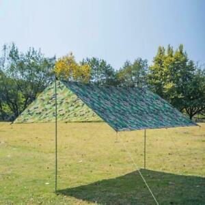 Waterproof British Basha Emergency Tent Shelter Tent Army BIVI Tarp X3N5
