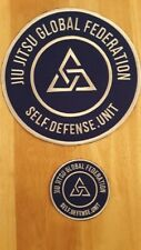 Jiu Jitsu Self Defense Embroidered Patch Set  Rickson Gracie