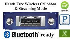 1964-66 Chevy Truck AM FM Bluetooth New Stereo Radio iPod USB Aux inputs, 300w