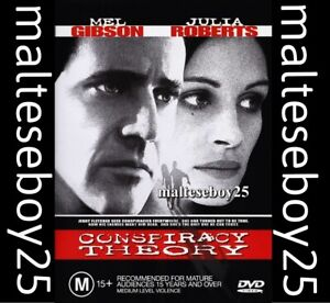 CONSPIRACY THEORY  MEL GIBSON NEW & SEALED DVD