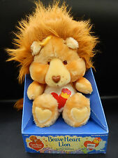 1985 vintage Kenner BRAVE HEART LION Care Bear Cousins plush toy MIB unused nice