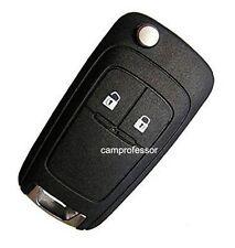 New Uncut Remote Key Fob 2 Button for Chevrolet Aveo Cruze Orlando 433MHz ID46