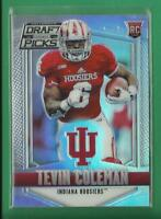 Tevin Coleman RC 2015 Panini Prizm Draft PRIZMS Rookie Card #145 Atlanta Falcons