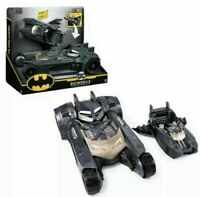 New Spin Master DC Comics BATMOBILE & BATBOAT 2-in-1 Transforming Vehicles