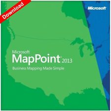 Microsoft Mappoint 2013 North America - 10 PC's