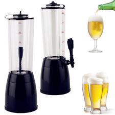 Biertower Zapfsäule Getränkespender 3 Liter + Kühlung NEU TOP Tischkühlung