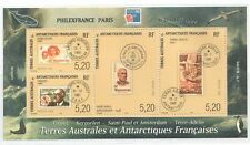 """1981 FRENCH SOUTHERN & ANTARTIC TERR - SG: MS 418 PHILEFRANCE """"99 - UNMOUNTED"""