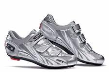 NEW Sidi Women's Moon Road Bike Shoes Road Cycling Size 42 Women's 9.5 Silver