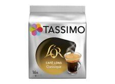 lot  de 96 capsules  Café L'Or long classique x16 capsules, Tassimo DLC longue