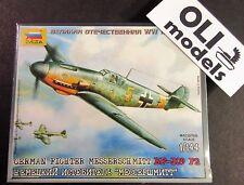 1/144 German Fighter Messerschmitt Bf-109 F2 - Zvezda 6116