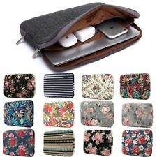 Laptop Sleeve Case With Notebook Inner Floral Zipper Shockproof Computer Bags