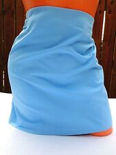 GAP Blue Stretch Lined Skirt Size 2
