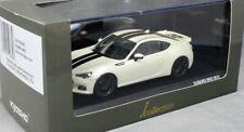 Subaru BRZ, White , Black Stripe 1/43, Model, Car,
