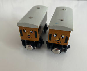 wooden thomas the tank engine trains for brio carriages annie and clarabel