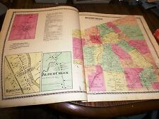 Original 1874 Maps Town Boonville Alder Creek Hawkinsville Ny Residents Listed