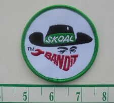 RARE SKOAL BANDIT CLOTH PATCH IRON ON 3""