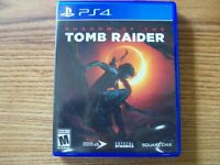 Shadow of the Tomb Raider (PS4) VERY GOOD - FREE US SHIPPING
