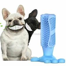 Durable Natural Rubber Pet Dog Chew Toy Bite Toothbrush Dental Oral Care Stick