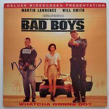 Martin Lawrence Signed Bad Boys Laserdisc Will Smith Comedy LEGEND RAD