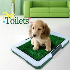 Pet Dog Cat Training Toilet Mat Indoor Potty Grass Pad 3 Layer Filtering Tray