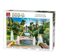 500 Piezas Paisaje Rompecabezas Villa d'este Tivoli Italia Hill fuente 05537