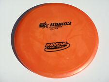 Disc Golf Innova Gstar Mako3 Mid-Range Disk Super Straight No Fade 180g Orange