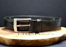 Le Serge Australian Vintage Mens Leather Belt Black Size 34