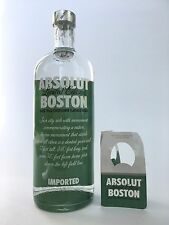 Absolut vodka boston Green wall monstruo fenway park Red Sox de béisbol full Bottle