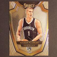 MASON PLUMLEE 2014/15 Panini Select #142 Brooklyn Nets single