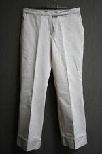 STRENESSE Gabriele Strehle Damen 3/4 Hose Jeans , 36 / 38 , IT 42 creme #01