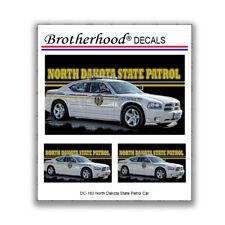 Washington DC Fire Marshal  Patrol Car Decals 1:24
