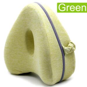 Knee Pillow  Orthopaedic Memory Foam Sciatica Lower Back Pain Leg Pillow