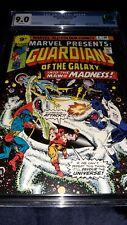 Marvel Presents 4 CGC 9.0 (VF/NM) Guardians of the Galaxy - 1st App Nikki Gold