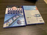 Professor Sudoku PS2 Versiegelt Neu IN Spanisch Verschlossen