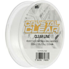Crystal Clear Invisible 300m 12lb Clear Line- Fishing Crafting