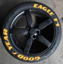 """Tire Lettering GOOD YEAR EAGLE F1 PERMANENT Stickers 14""""-24"""" Pack letters 1.25"""""""